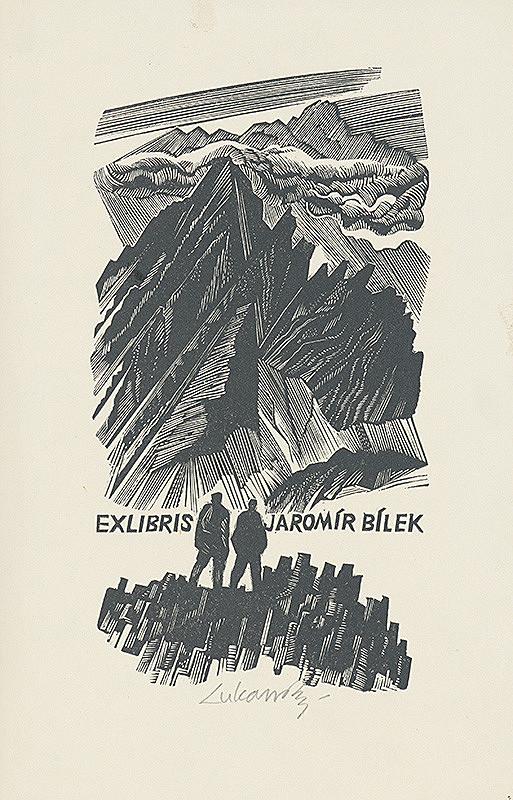 Jaroslav Lukavský – Ex libris Jaromíra Bílka