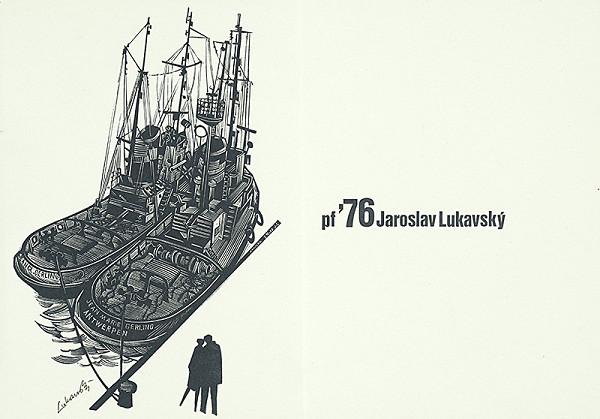 Jaroslav Lukavský – Vlastná novoročenka 1976