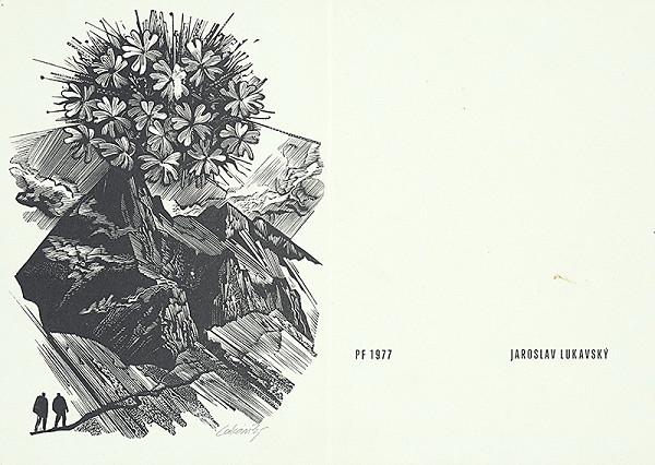 Jaroslav Lukavský – Vlastná novoročenka 1977