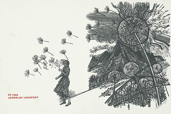 Jaroslav Lukavský – Vlastná novoročenka 1983