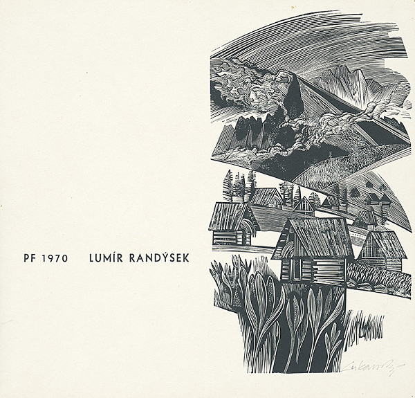Jaroslav Lukavský – Novoročenka 1970 - Lumír Randýsek