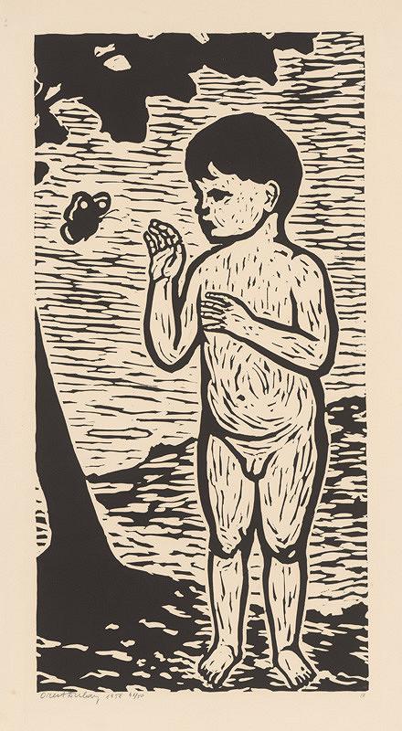 Orest Dubay – Chlapec s motýľom