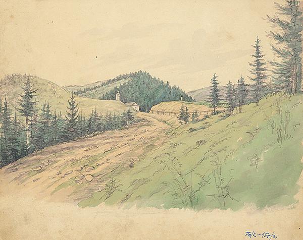 Slovenský kresliar z 3. štvrtiny 19. storočia – Branisko