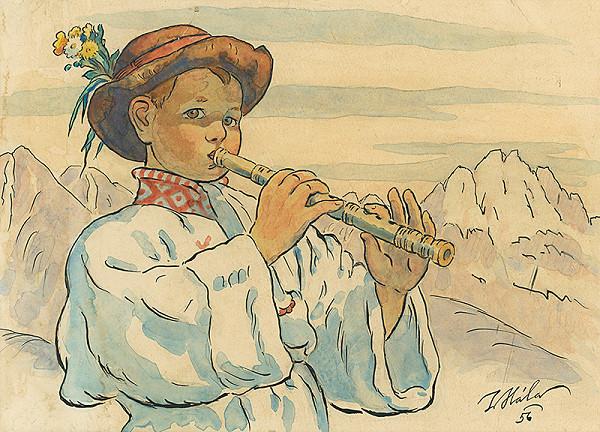 Jan Hála - Chlapec s píšťalou