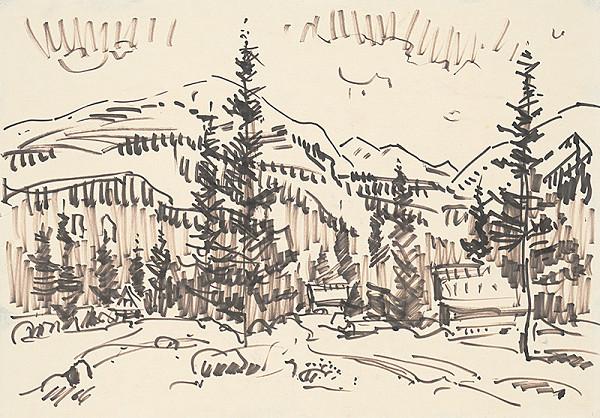 Vojtech Mensatoris - Dolina pod Bystrou