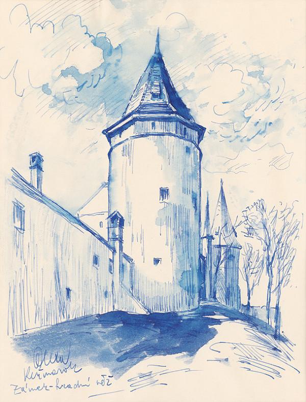 Josef Olexa - Hradná veža v Kežmarku