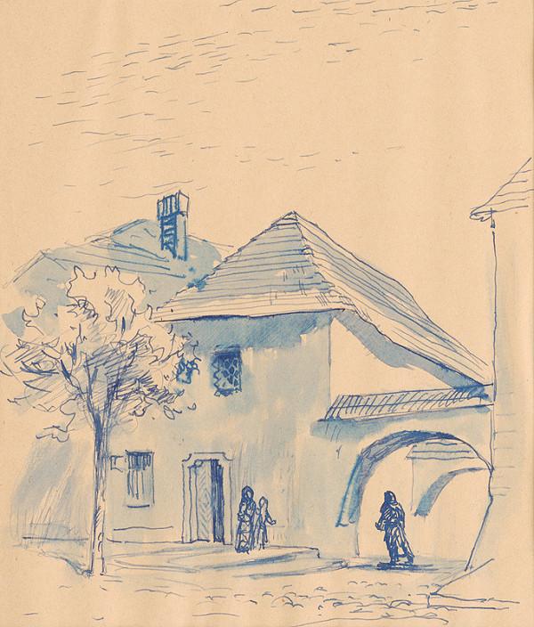 Josef Olexa - Farbiarsky dom v Kežmarku