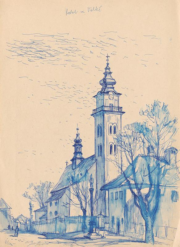 Josef Olexa - Kostol vo Veľkej