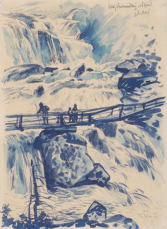 Josef Olexa – Veľký Studenovodský vodopád