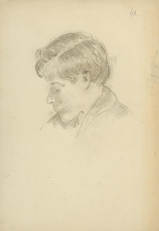 Andor Borúth – Portrét chlapca
