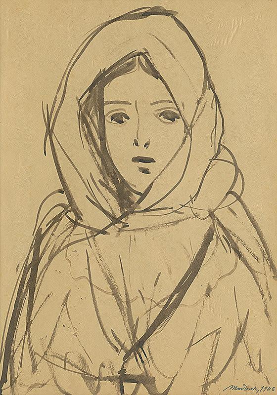 Ján Mudroch - Žena z Važca I.