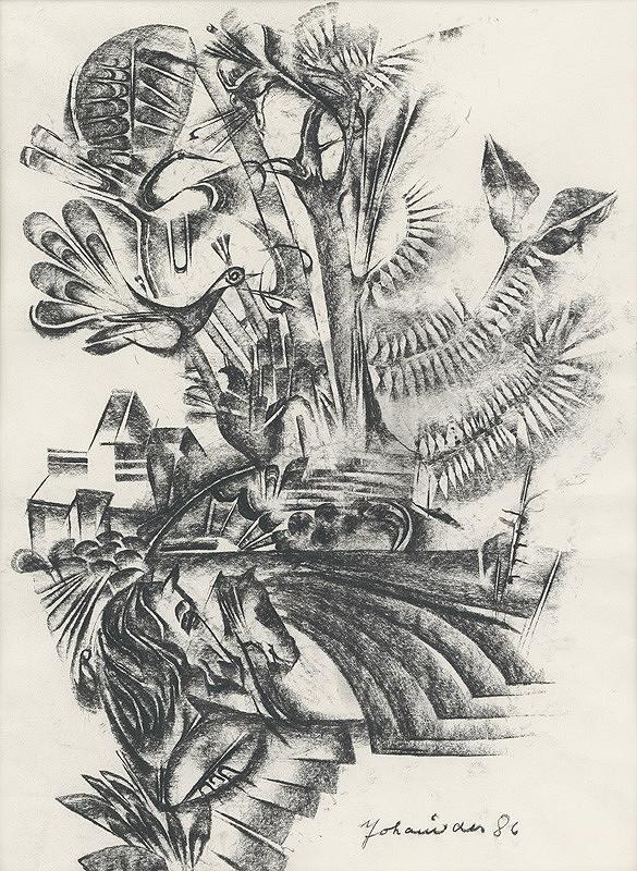 Milan Johanides – Krajina s vtákom