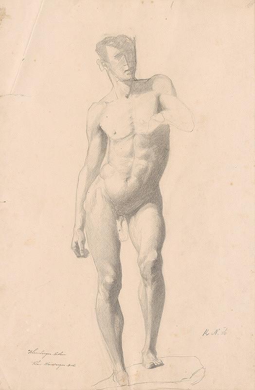 Ferdinand Katona – Mužský akt