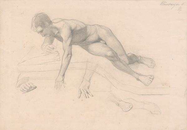 Ferdinand Katona – Mužský akt v pohybe