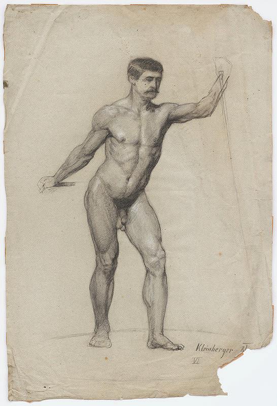 Ferdinand Katona – Mužský akt v pohybe II.
