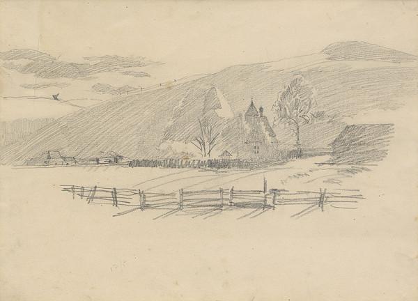 Ferdinand Katona - Krajina s kostolíkom