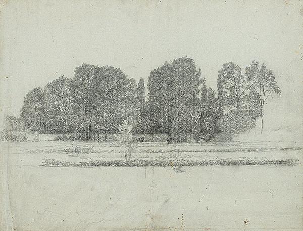 Ferdinand Katona - Krajina s listnatými stromami