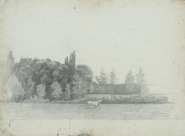 Ferdinand Katona – Krajina s listnatým lesom