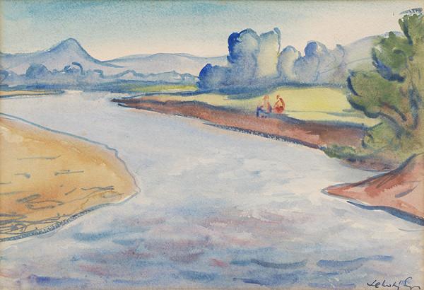Eugen Lehotský – Na brehu rieky