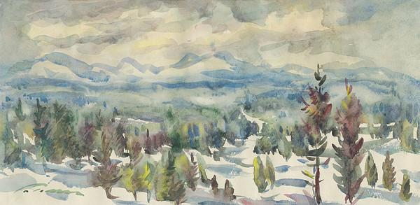Ján Polom - V zime pod Tatrami