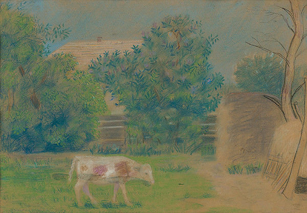 Imrich Oravec – V záhrade