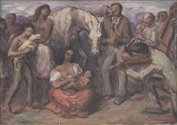 Jozef Bendík – Cigánska rodina