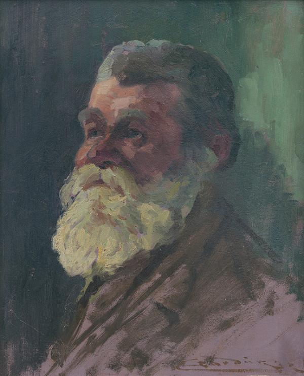 Ľudovít Čordák - Portrét starca