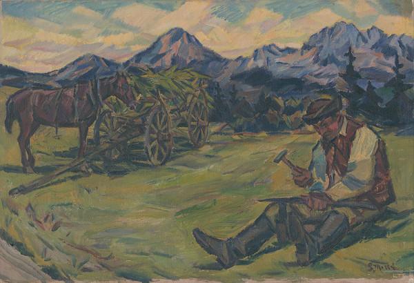 Gustáv Mallý - Pred kosením