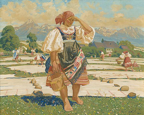 Jan Hála – Bielenie plátna