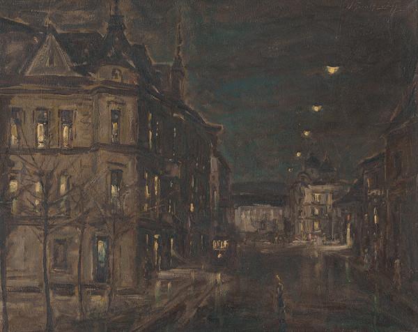 Ján Grotkovský - Daždivá noc, Košice