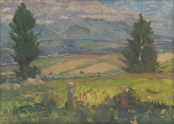 Ernest Rákosi - Polia na okraji lesa