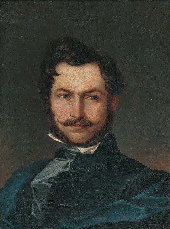 Michal Ujváry – Autoportrét