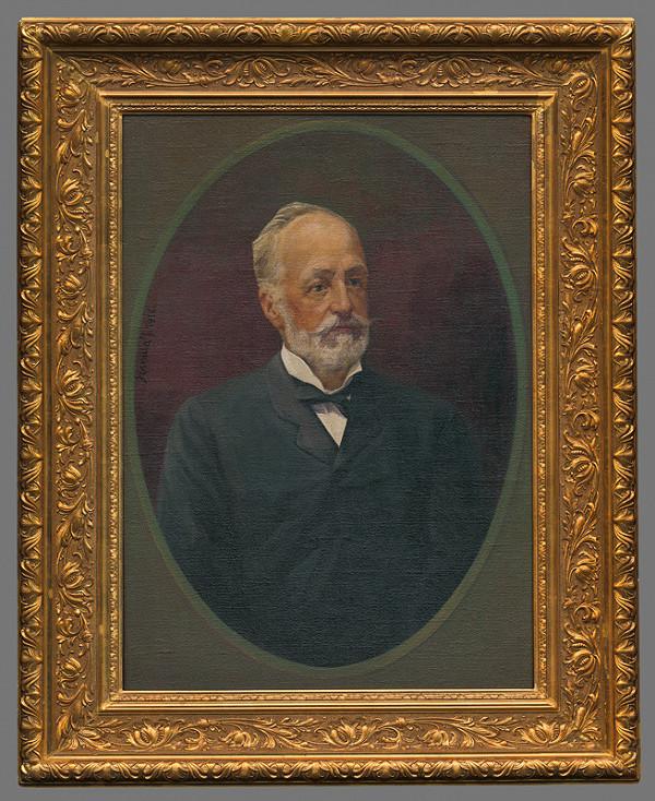 Jozef Hanula - Portrét muža