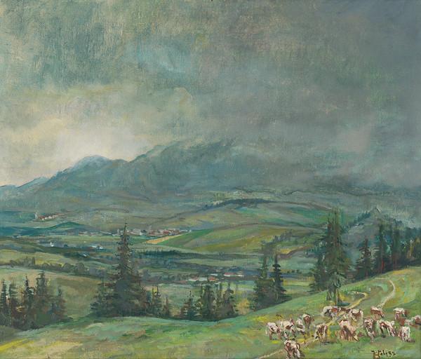 Július Jakoby - Dedinky pod Liptovskými hoľami