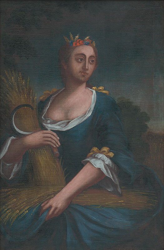 Stredoeurópsky maliar zo 4. štvrtiny 18. storočia – Alegória leta