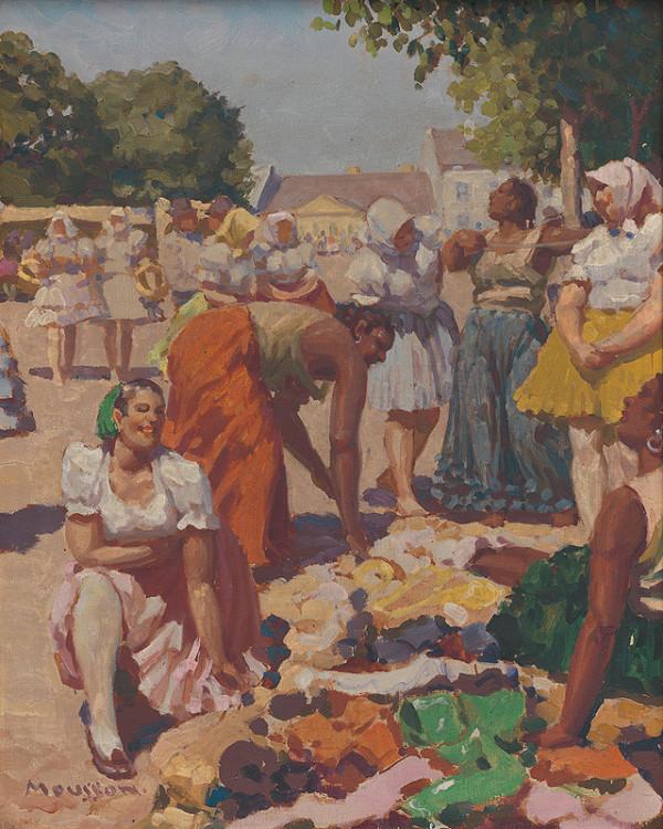Teodor Jozef Mousson – Cigánky na trhu