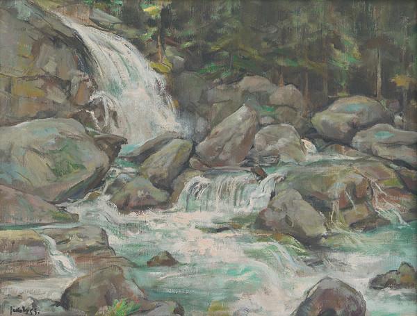 Július Jakoby – Studenovodský vodopád