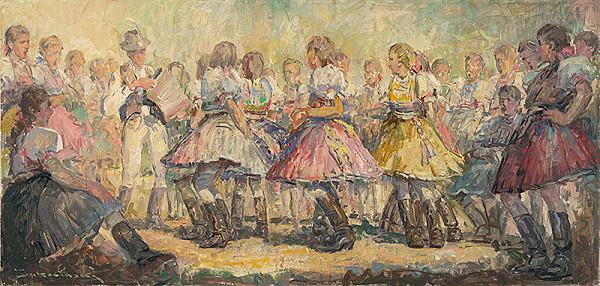 Július Bukovinský - Tanec pod Dargovom