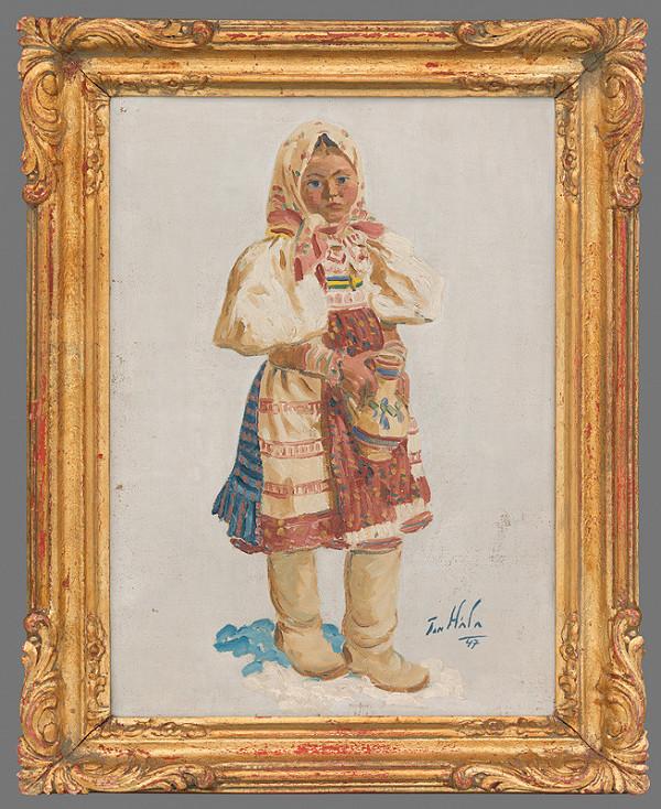 Jan Hála - Dievčatko s krčahom