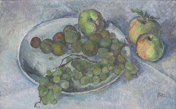 Anna Borovičková – Zátišie s ovocím