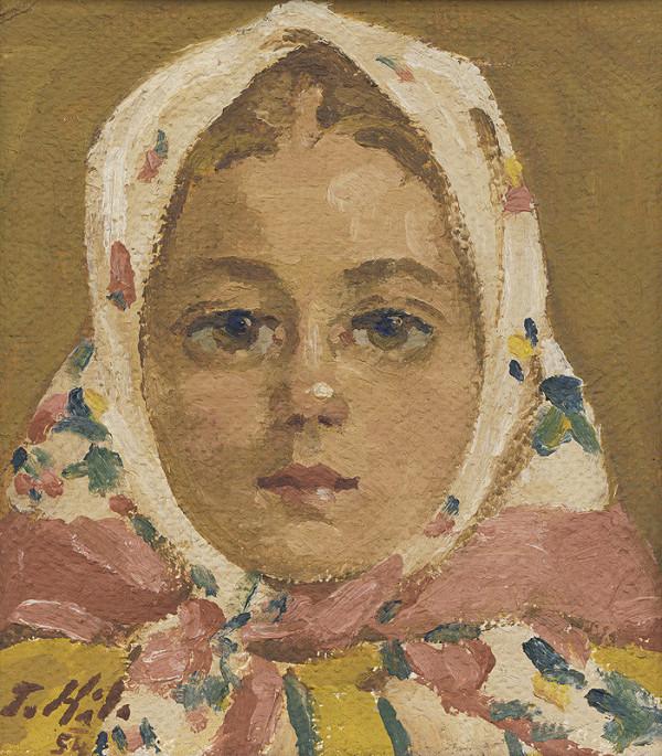 Jan Hála – Hlava dievčatka