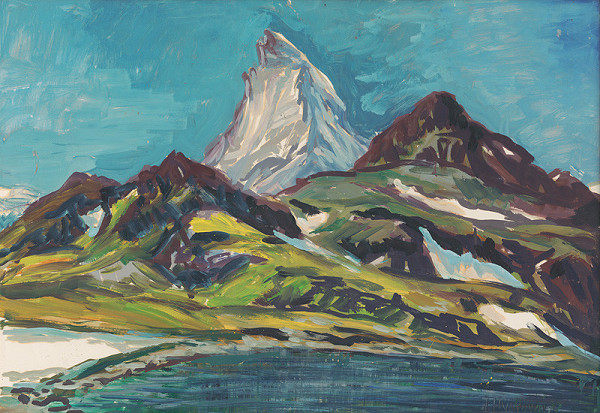 Ludmila Hynková - Matterhorn od Schwarzsee