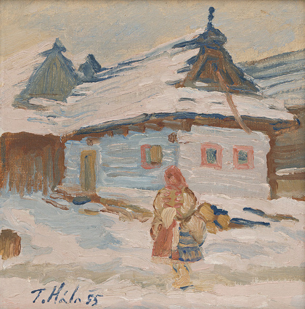 Jan Hála - Chalupa v zime