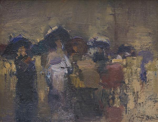 Peter Pollág – V daždi