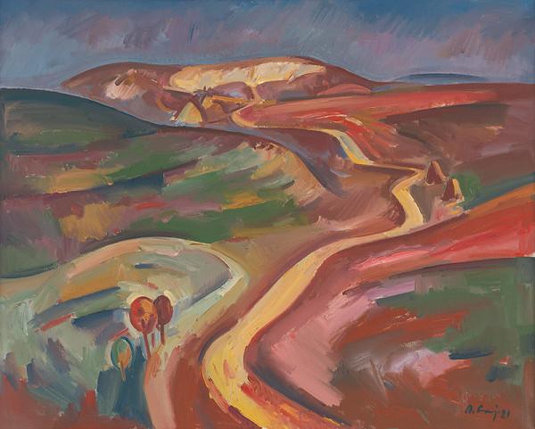 Andrej Gaj – Krajina s poľnou cestou