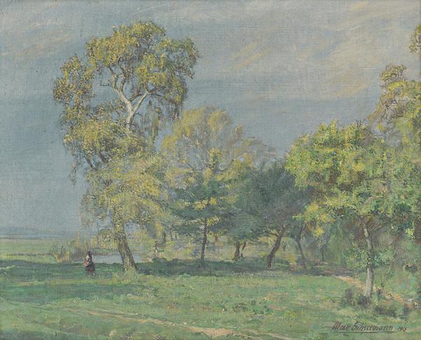 Maximilián Schurmann – Krajina pri Nitre