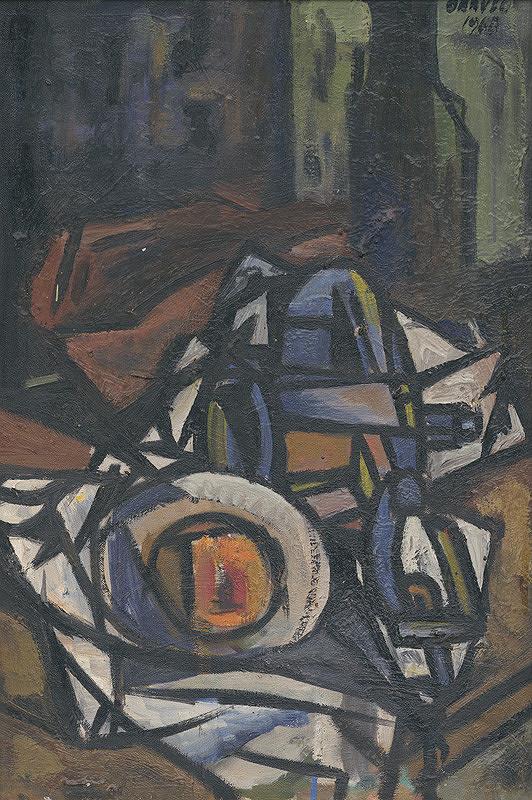 Štefan Oravec – Zátišie s mlynkom