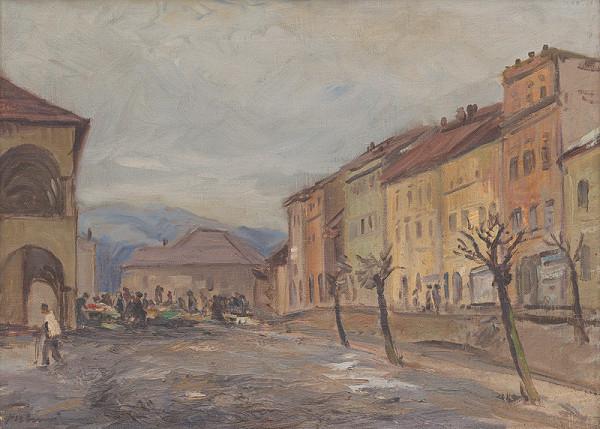 Jozef Fabini – Na námestí v Levoči
