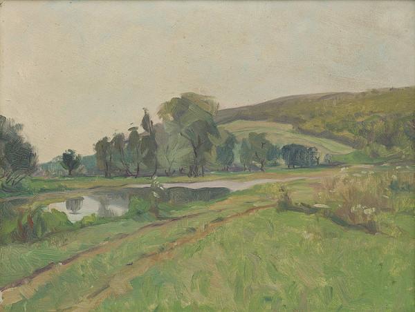 Ernest Rákosi - Krajina s riekou