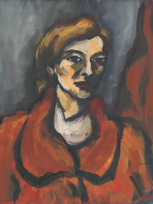 Zuzana Dallošová-Strapková - Portrét ženy